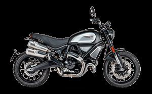Ducati 1100 Dark Pro Menü