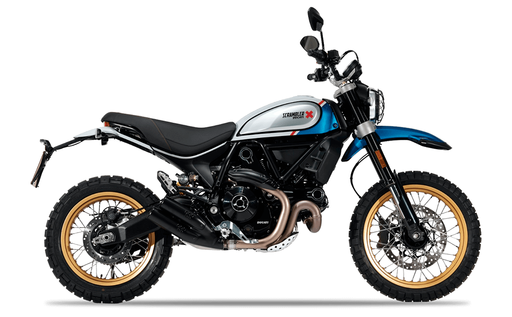 Ducati Scrambler Desert Sled Blue Spark MY2021