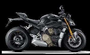 Ducati Streetfigter V4 Menü Black