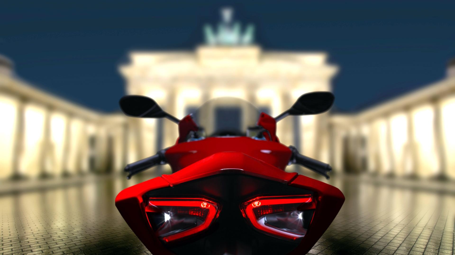 Ducati Berlin Brandenburgertor