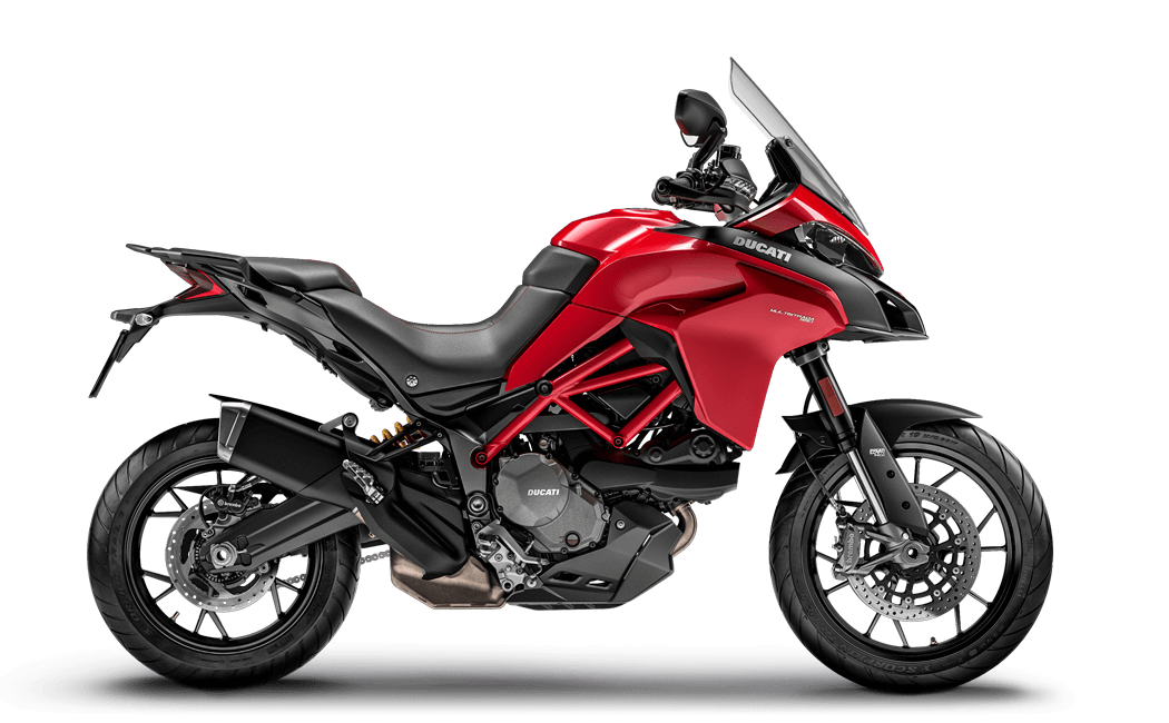 Ducati Multistrada 950 in rot