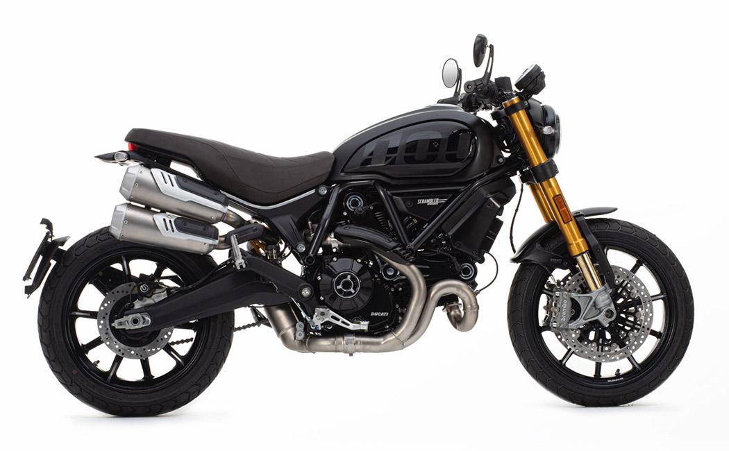 Ducati Scrambler 1100 Sport Pro Seitenansicht