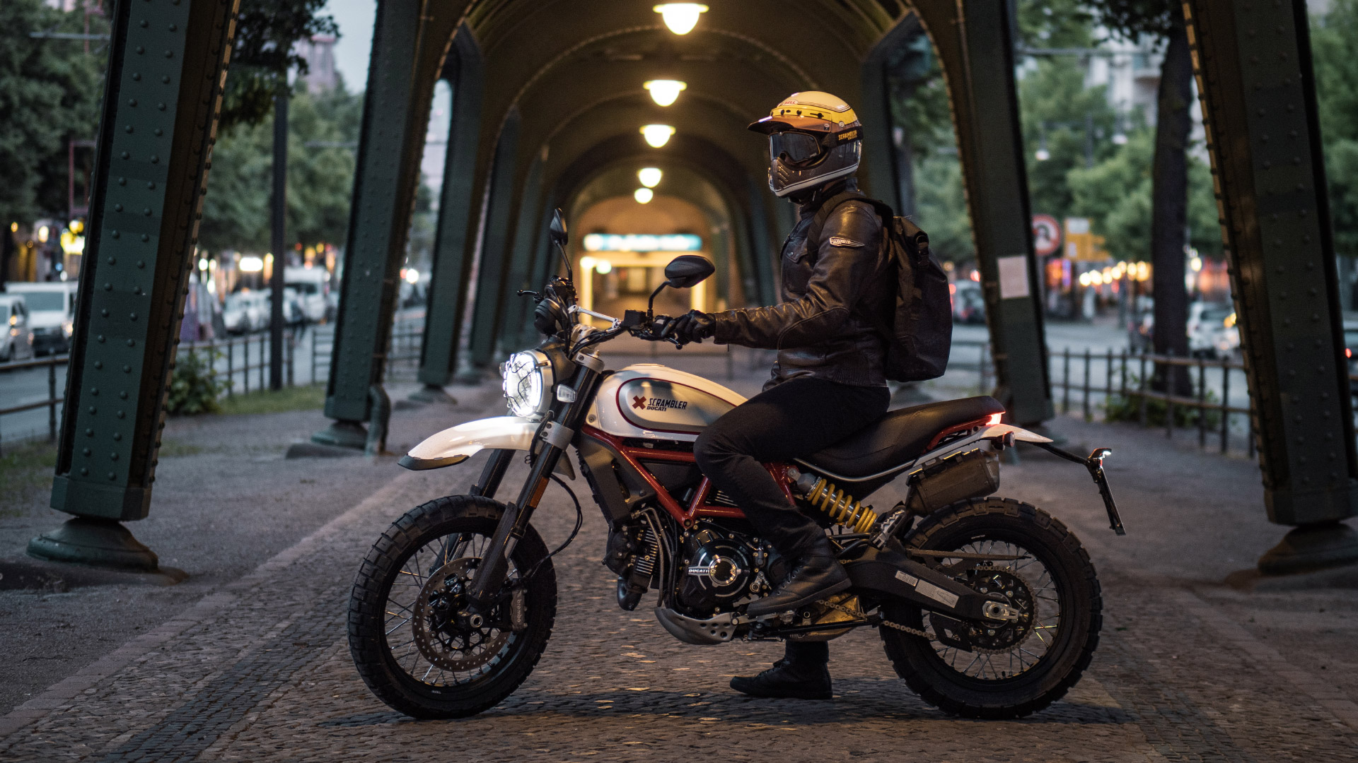 Ducati Scrambler Desert Sled Berlin