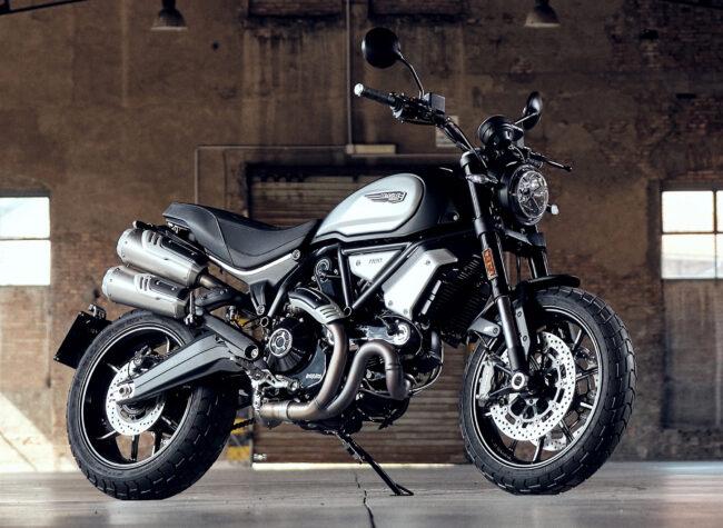 Ducati Berlin Scrambler Dark Release