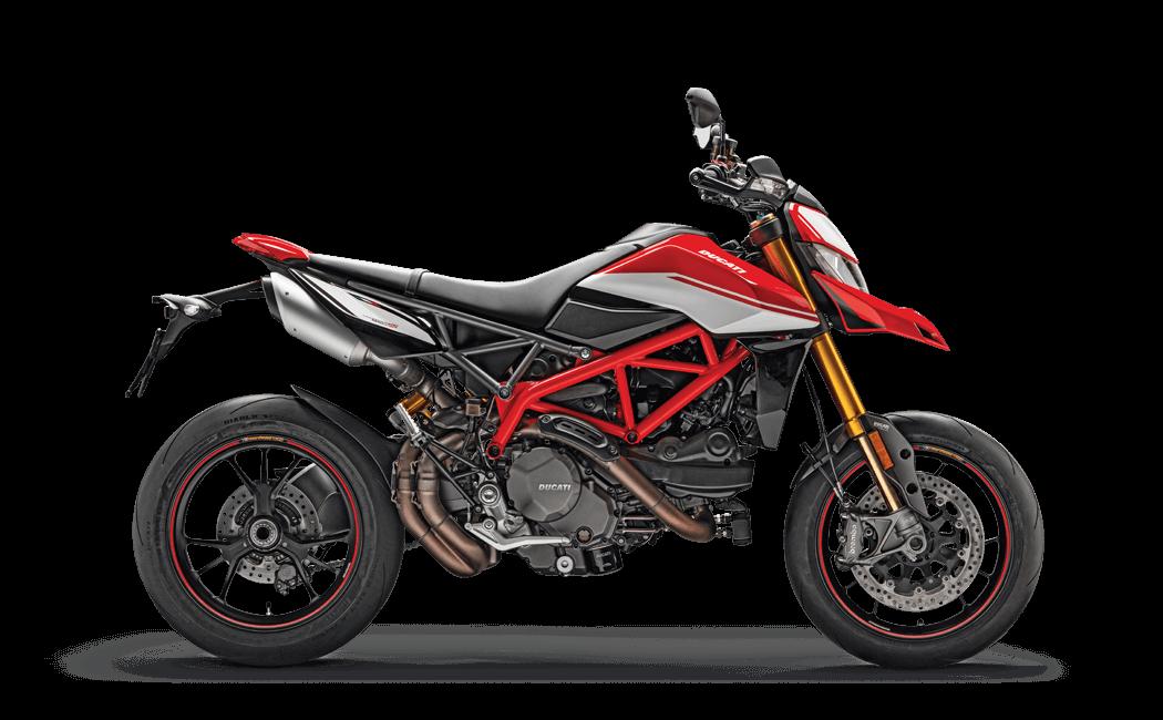 Ducati Hypermotard Seitenansicht