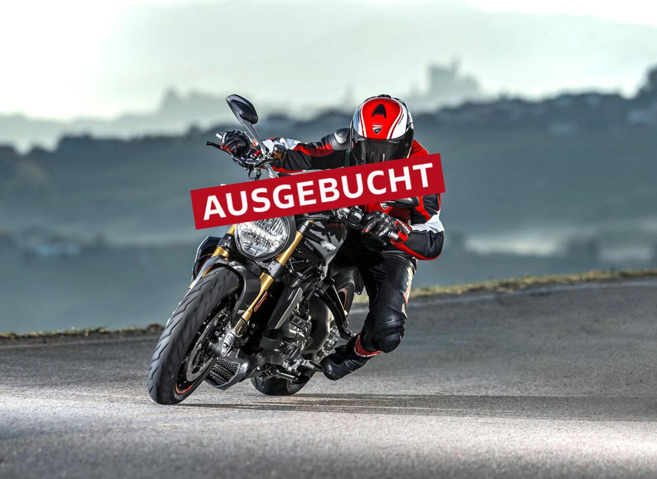 Ducati Berlin Kurventraining ausgebucht