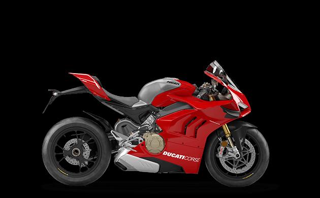Ducati Panigale V4 R Menü