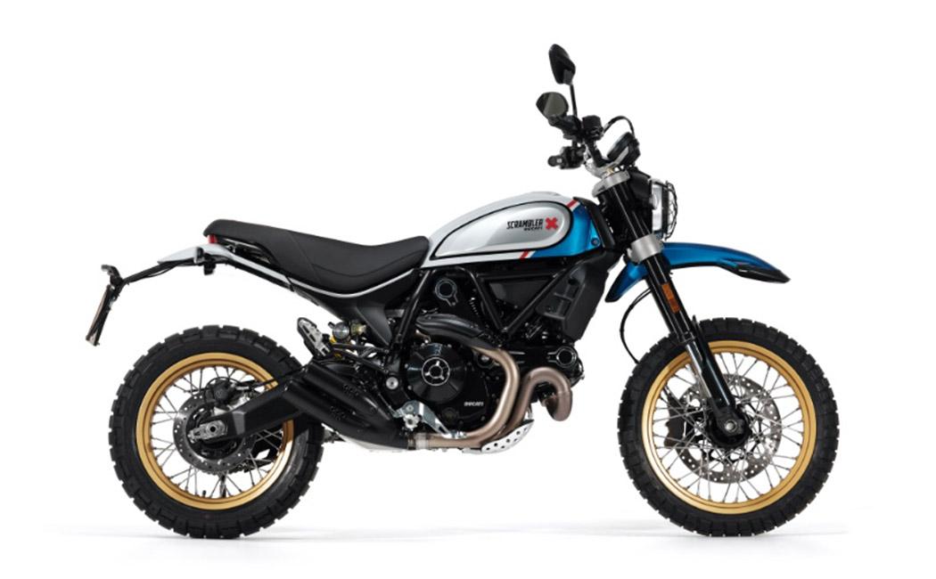 Ducati Scrambler Desert Sled sparkling blue