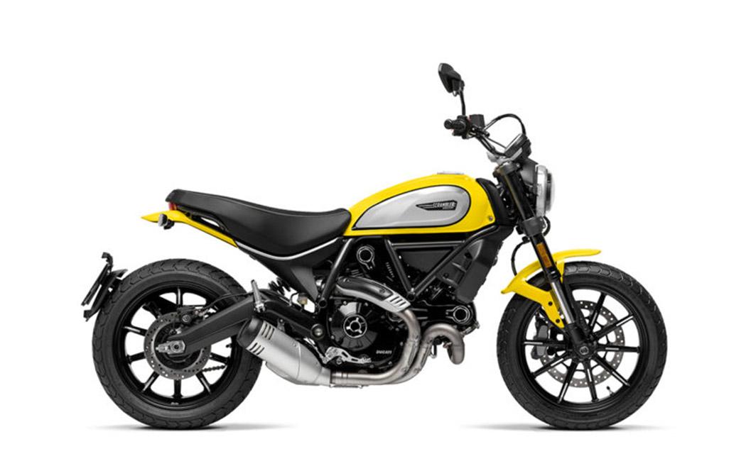 Ducati Scrambler 800 gelb