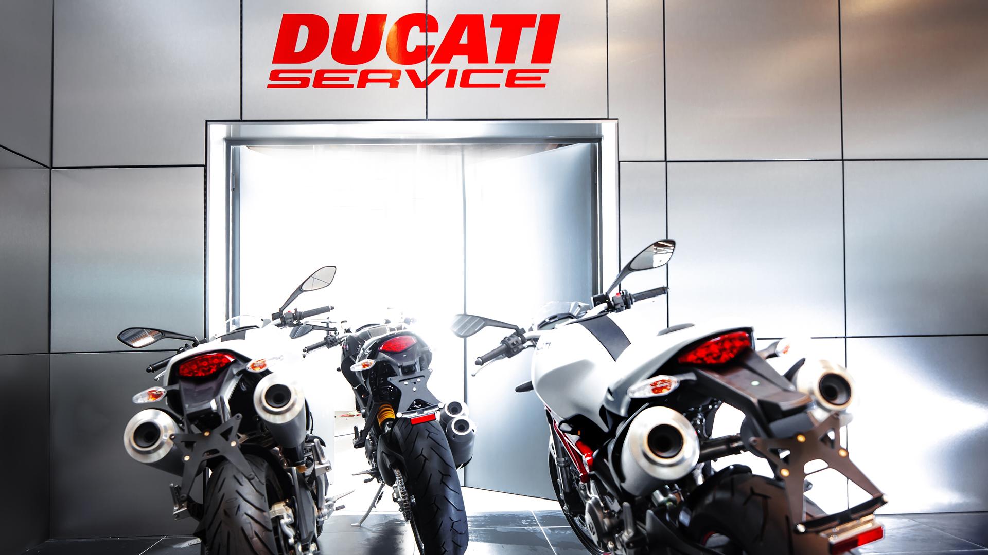 Ducati Berlin mit bestem Service