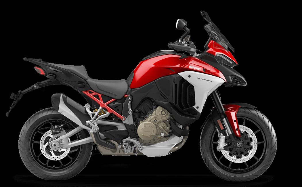 Ducati Multistrada V4 Seitenansicht