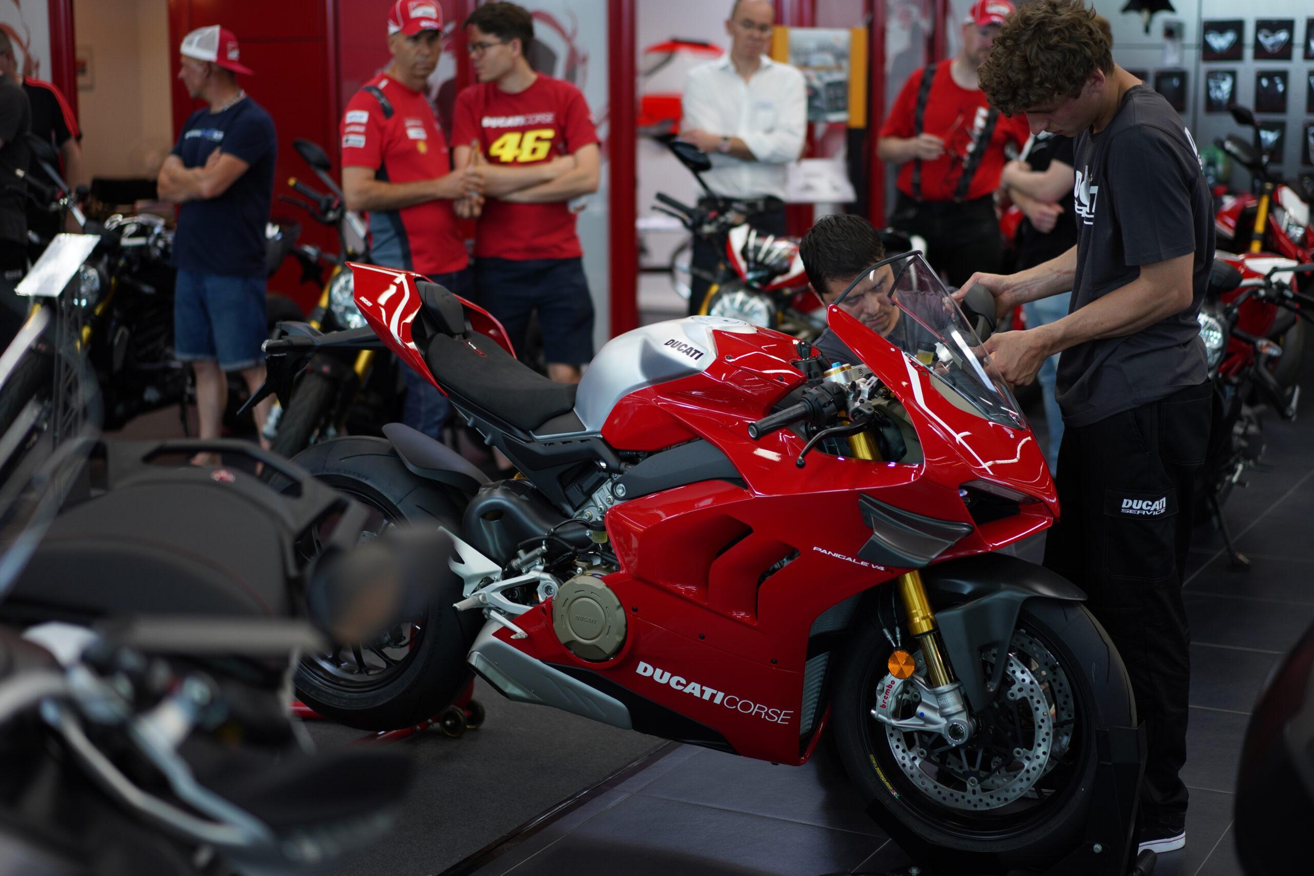 Dein Traum Job bei Ducati Berlin