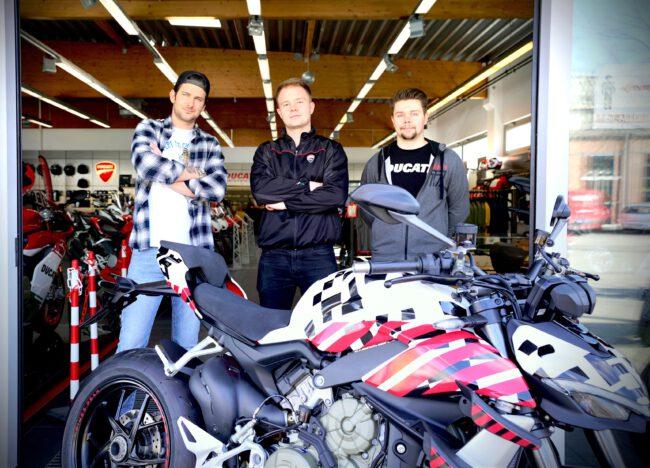 Call & Meet bei Ducati Berlin