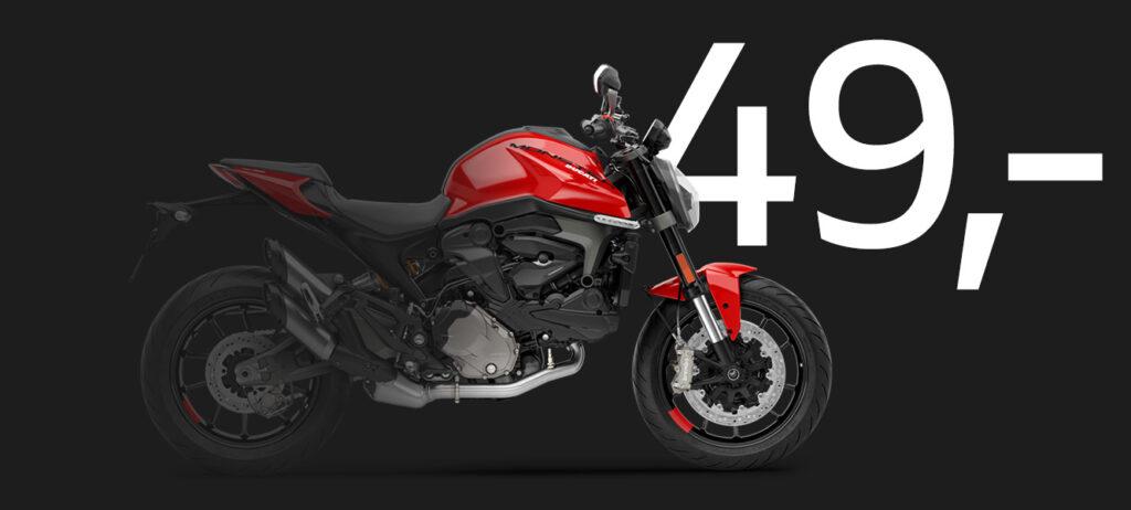 Ducati Monster Finanzierung 49,- EUR pro Monat