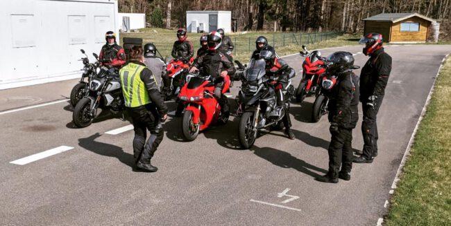 Ducati Berlin Kurventraining