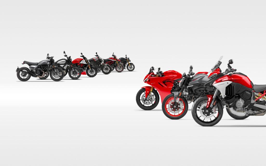 Ducati Modelle mit Sonderfinanzierung